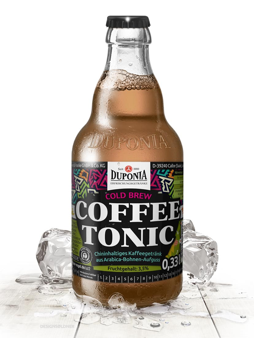 Drink Package Design DUPOINA Coffee Tonic