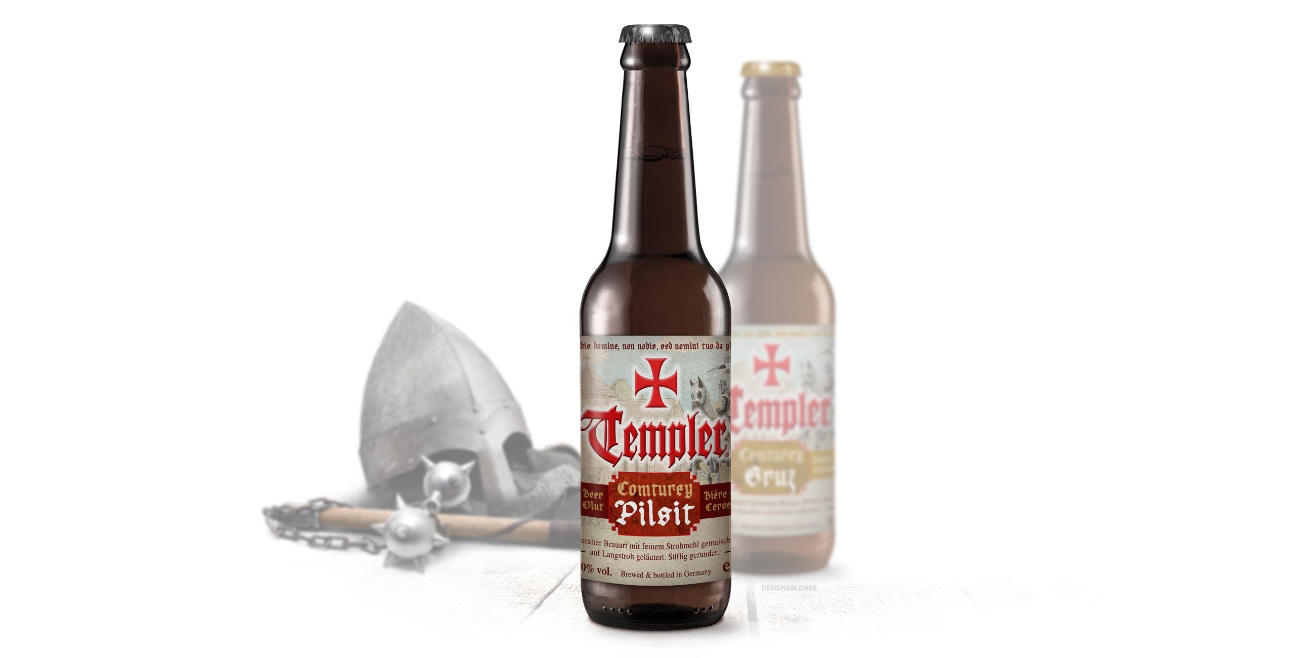 Templer Conturey Bier Pilsit und Gruz